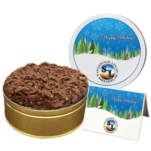 NEW Chocolate Mint Chip Cookies - Large Tin