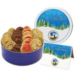 Gourmet Classic Cookie Combo - 2 Flavors - Large Tin