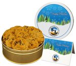 Oatmeal Raisin Cookies In Large Gift Tin