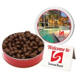 Chocolate Covered Almonds (12 oz. Small Tin)