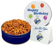 Roasted Almonds in Gift Tin (12 oz. in Small Tin)