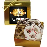 Holiday Chocolate Pretzel Grahams in Ballotin Gift Box (4)