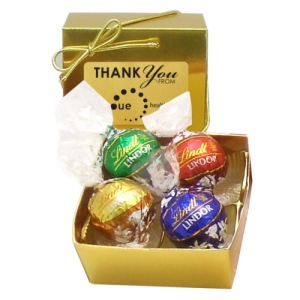 Swiss Chocolate Lindor? Truffles in Gift Box (4)