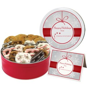 Chocolate Chip Cookies and Holiday Pretzel Graham Combo