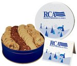 Classic Cookie Assortment in Large Gift Tin (40 Cookies)
