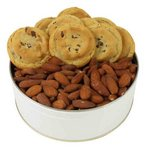 Chocolate Chip Gourmet Cookies and Roasted Almonds