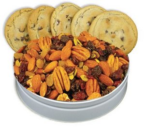 Chocolate Chip Cookies and Cranberry Nut Mix