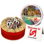 Chocolate Chip Gourmet Cookies and Mid-Size Chocolate Pretzels
