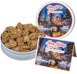 Southern Honey Toasted Gourmet Pecans (9 oz. in Small Tin)