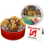 Deluxe Chocolate and Cookie Assortment - Large Tin