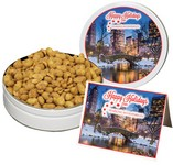 Honey Roasted Gourmet Peanuts (14 oz. in Small Tin)
