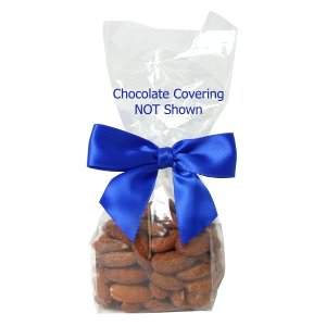 Milk Chocolate Covered Almonds in Clear Mini Gift Bag (5 oz.)