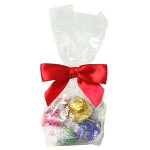 Swiss Chocolate Truffles in Clear Mini Gift Bag (10 truffles)
