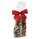 Chocolate Penny Rods in Gift Bag (6 rods)