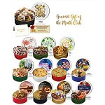 Gourmet Cookie Gift of the Month Club 12 Month