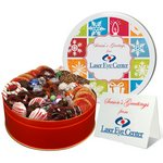 Gourmet Holiday Cookie Gift Assortment in Large Gift Tin