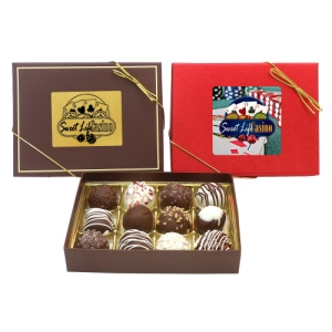 Luxury Chocolate Assortment Gift Box - 12 PIECE