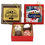Luxury Chocolate Assortment Gift Box- 4 PIECE