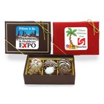 Luxury Chocolate Assortment Gift Box- 6 PIECE