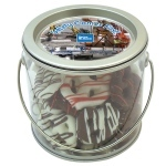 Mini Chocolate Pretzels in a Mini Pail (30 pretzels)