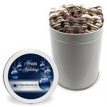 Mini Chocolate Covered Pretzels (30) - Quart Tin
