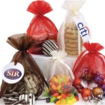 Chocolate Covered Peanut Butter Pretzel Nuggets Organza Bag (12)
