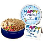 Snack Attack Gourmet Cookie Gift Assortment in Large Gift Tin