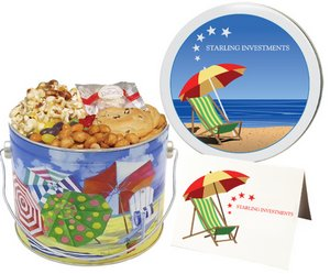 Summer Fun Bucket Gourmet Cookie Gifts