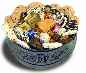 Wintertime Deluxe Gourment Cookie Gift Assortment