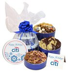Triple Delight Gift Basket Tower