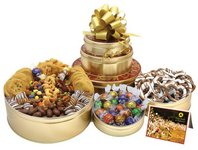 Royal Confectionary Trio Gift Basket Tower