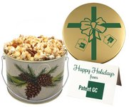 Toffee Crunch Popcorn in Designer Gift Bucket (15 oz)