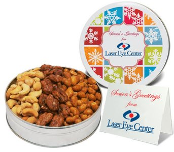 Deluxe Nuts (Honey Toasted Pecan/Peanuts/Cashews) 9oz. 