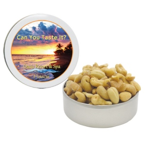 Jumbo Brazilian Cashews in a Petite Gift Tin (6 oz.)