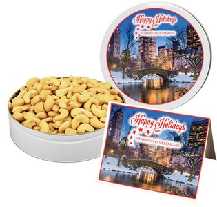 Fancy Jumbo Brazilian Cashews (12 oz. in Small Tin)