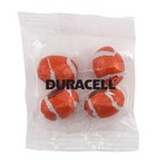 Snack Bag with Chocolate Footballs