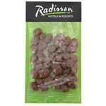 Billboard Bag with Chocolate. Raisins