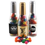 Champagne Bottle with Gumballs