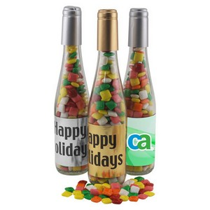 Champagne Bottle with with Mini Chicklets