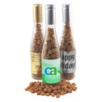 Champagne Bottle with Honey Rst Peanuts
