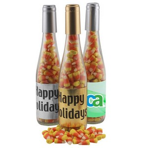Champagne Bottle with Candy Corn
