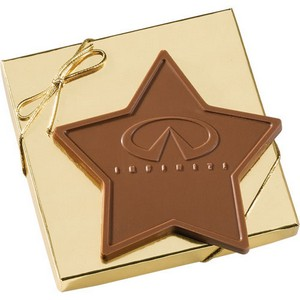 2.5 oz Star Custom Chocolate in Gift Box