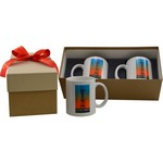2 Full Color Mug Deluxe Gift Box