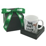 Full Color Mug in Deluxe Black Gift Box