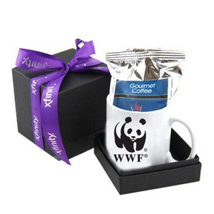 White Mug & Coffee Deluxe Gift Box
