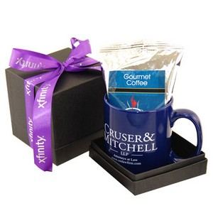 Mug & Coffee Deluxe Black Gift Box
