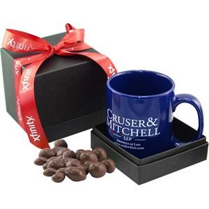 Mug & Chocolate Covered Peanuts Gift Box