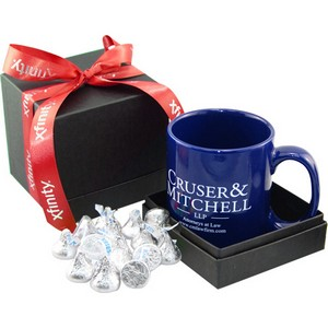 Mug & Hershey Kisses Gift Box