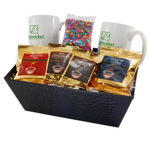 Tray with mug s-Chocolate SunflowerSeeds