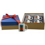 4 Full Color Mug Deluxe Gift Box